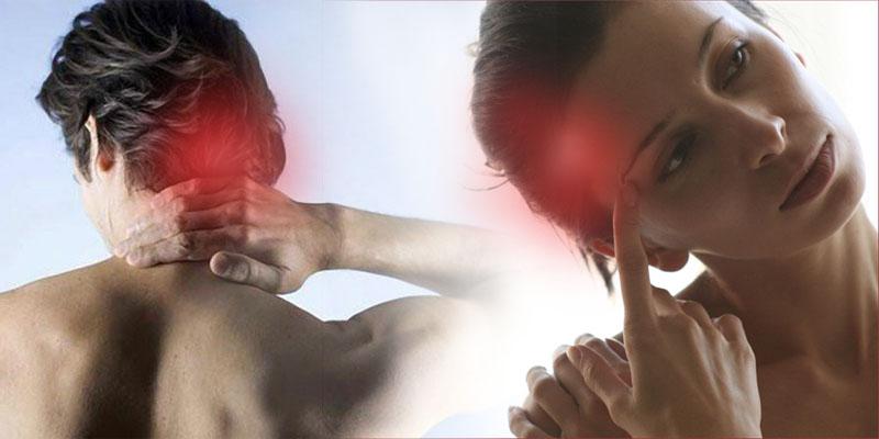 Головные боли в затылке и в висках