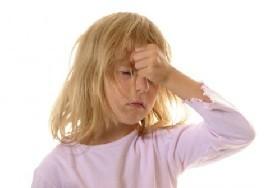 Головокружение и тошнота у детей