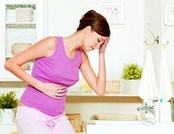 Токсикоз может быть причиной головокружения при беременности