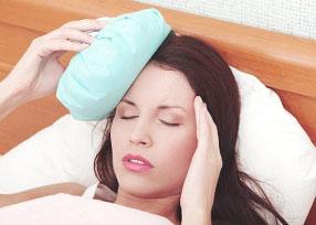 Холодный компресс от мигрени