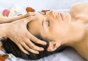 Массаж головы при мигрени