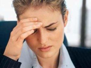 Ноющая головная боль в лобной части