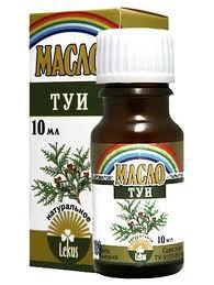 Эфирное масло туи помогает при лечении гайморита
