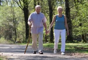 Пешая ходьба улучшает здоровье