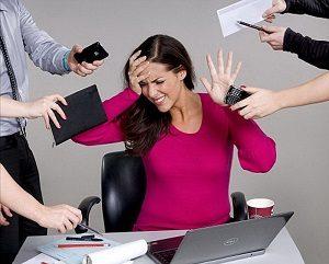 Перенапряжение, перенесенный стресс