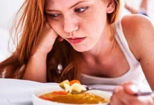 После еды кружится голова, слабость