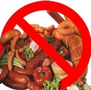Перечень запрещенных продуктов после инсульта