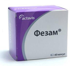 Комбинированные препараты - фезам