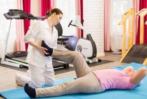 Гимнастика после инсульта для ног